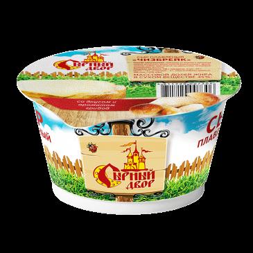 """Сыр плавленый в стакане """"Чизбрейк"""" со вкусом и ароматом грибов"""