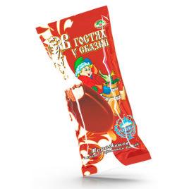 Сливочное «В гостях у сказки» двухслойное  с ароматом ванили и с какао