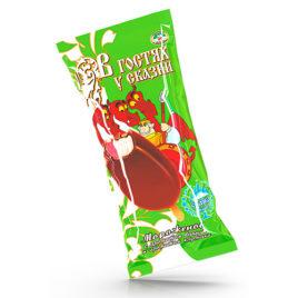 Сливочное «В гостях у сказки» двухслойное  с ароматом ванили и с ароматом клубники
