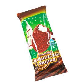 Пломбир «Оршанская марка» с ароматом ванили в какао содержащей глазури с арахисом