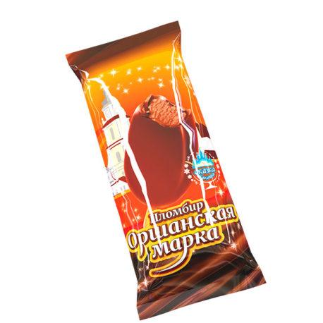 Пломбир «Оршанская марка» с какао в какао содержащей глазури