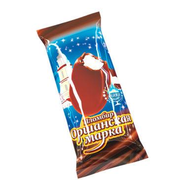 Пломбир «Оршанская марка» с ароматом ванили в какао содержащей глазури