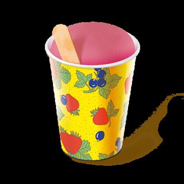 Десерт замороженный «Щербет клубничный»