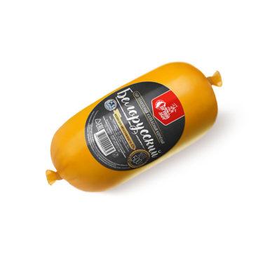 Сыр плавленый колбасный копчёный «Белорусский» 40% жирности