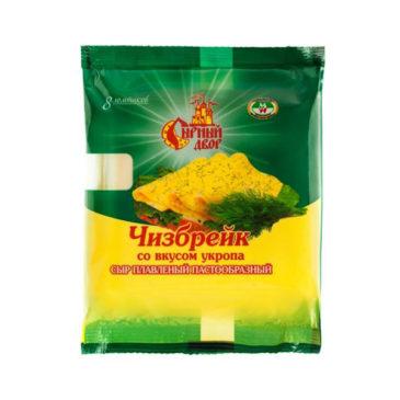Сыр плавленый в слайсах «Чизбрейк со вкусом укропа»