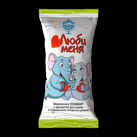 Пломбир «Люби меня» с ароматом фисташек