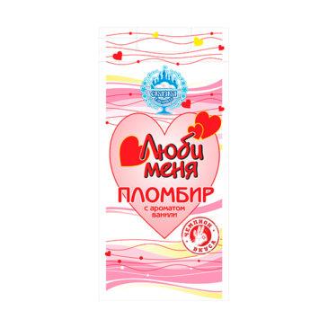 Пломбир «Люби меня» с ароматом ванили 1кг