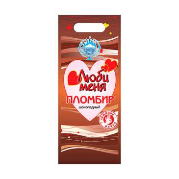 Пломбир с какао «Люби меня» 500г