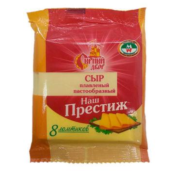 Сыр плавленый в слайсах «Наш престиж»